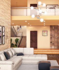 New Style Living Area - Ibrahim Heaven