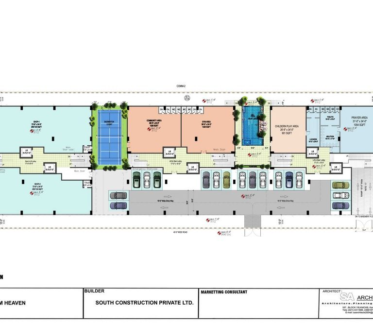 Ground Floor Plan - Ibrahim Heaven