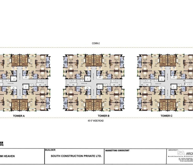 Typical Floor Plan - Ibrahim Heaven