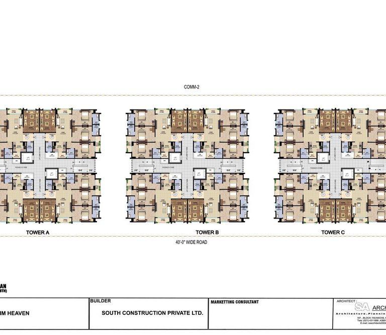 Typical Floor Plan - Ibrahim Heaven